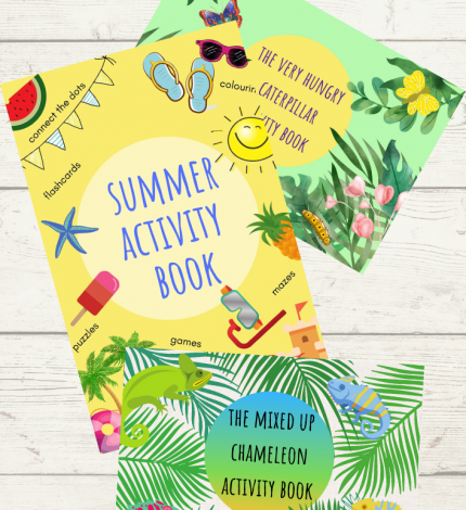selected activity books
